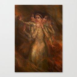 Lady Macbeth Canvas Print