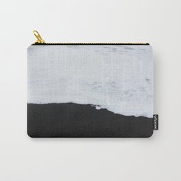 Black beach Carry-All Pouch