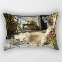 Harvest Pup Rectangular Pillow