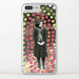 Lourdes Trip Clear iPhone Case