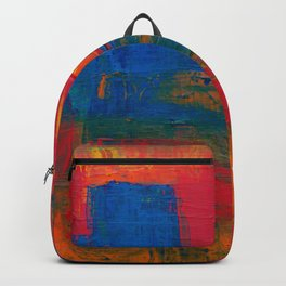 Reggae Rainbow Paint (Color) Backpack