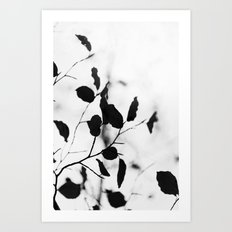 Silhouettes 1 Art Print