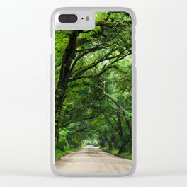 Botany Bay Plantation Clear iPhone Case