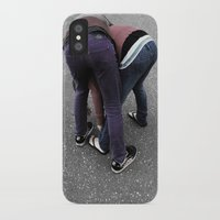 butt iPhone & iPod Cases featuring Butt by villageidiot4ever