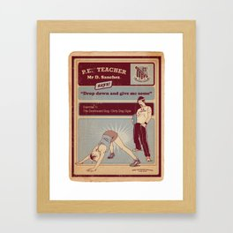 Dirty Dog Framed Art Print