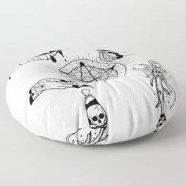 I WILL SLOWLY ROAST YOU Floor Pillow