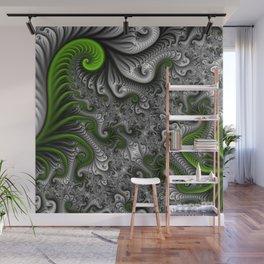 Fantasy World, abstract Fractal Art Wall Mural