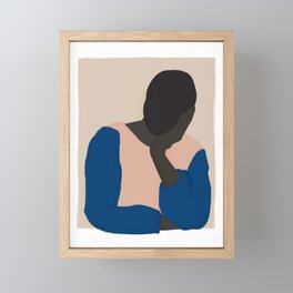 I Miss You Framed Mini Art Print