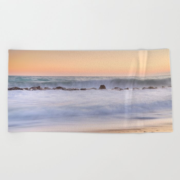 """The big wave..."" Beach Towel"
