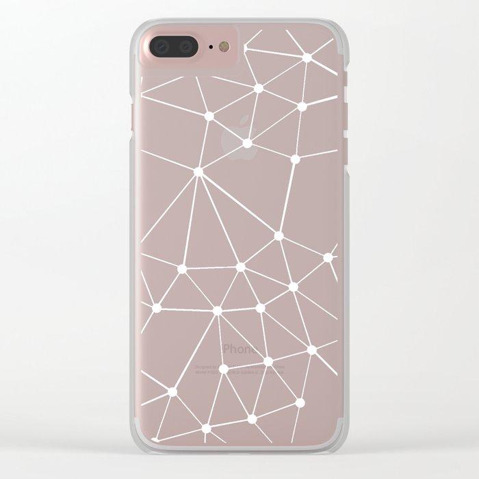 Seg Black Clear iPhone Case