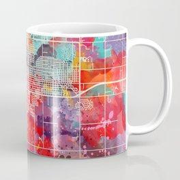 Enid map Oklahoma OK 2 Coffee Mug