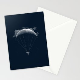 Parachute Moon Stationery Cards