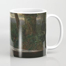 Walter Crane - The Lady of Shalott Coffee Mug
