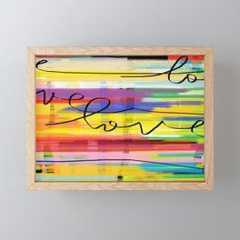 Love's protection  Framed Mini Art Print