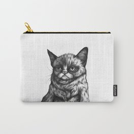 Tard the Grumpy Cat Carry-All Pouch