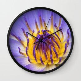 The Lotus Flower Wall Clock