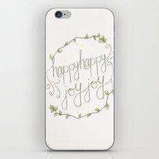 happy happy joy joy iPhone & iPod Skin