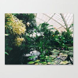 Conservatory of Flowers, San Francisco Canvas Print