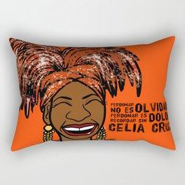 La Reina Celia Cruz Rectangular Pillow