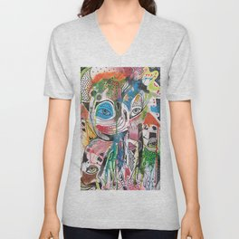 The Point Being Unisex V-Neck