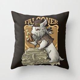 Professooor Falconer  Throw Pillow