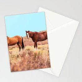 Horses #society6 #decor #buyart Stationery Cards