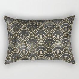 The Roaring Twenties Pattern Rectangular Pillow