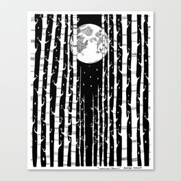 MoonLight Dream Canvas Print