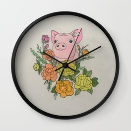 The Only Way it Could End Wall Clock