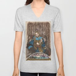 The Guardian of Bifrost Unisex V-Neck