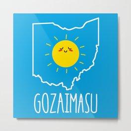 Ohio Gozaimasu 2.0 Metal Print
