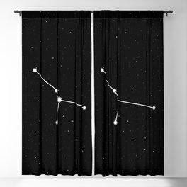 Cancer Star Sign Night Sky Blackout Curtain