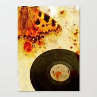 moth Canvas Prints featuring moth by Markus Breitbach