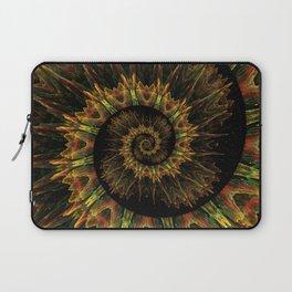 Spiral Organic Orange Laptop Sleeve