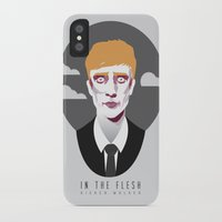 kieren walker iPhone & iPod Cases featuring In The Flesh - Kieren Walker by Aferova