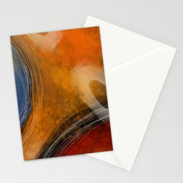 Color Orbs II Stationery Cards