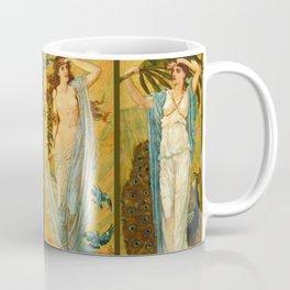 "Walter Crane ""Morn, Noon, Eve, Night"" Coffee Mug"