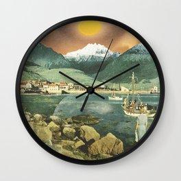 Crepuscular Light Wall Clock