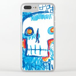 Skull of the Insomniac Clear iPhone Case