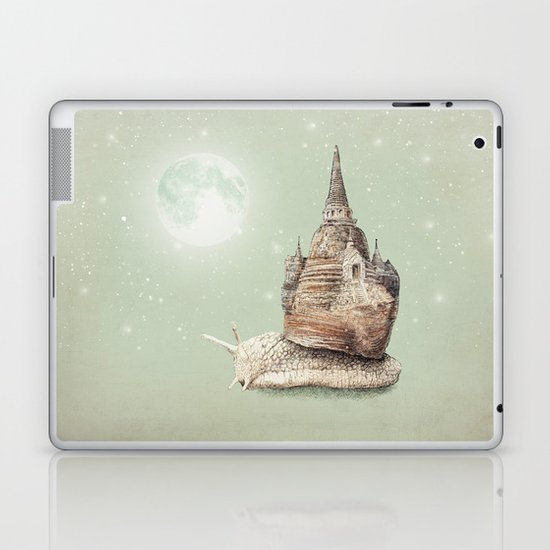 The Snail's Dream Laptop & iPad Skin