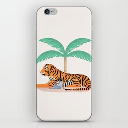 Tiger Paradise iPhone Skin