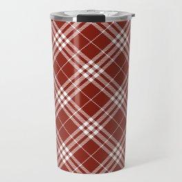 Holiday Plaid 4 Travel Mug