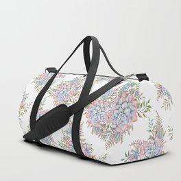 succulent watercolor 14 Duffle Bag