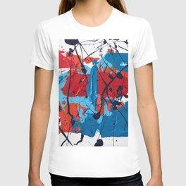 Miniature Original - blue and red T-shirt