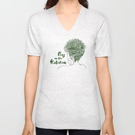 Peas in the Kitchen Unisex V-Neck