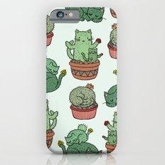 Cacti Cat pattern Slim Case iPhone 6s