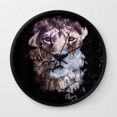 Heterochromia Iridum Wall Clock