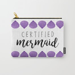 Certified Mermaid Carry-All Pouch