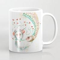 friendship Mugs featuring Friendship by Valentina Cardana