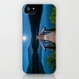 Bright Night Sky at British Columbia iPhone Case